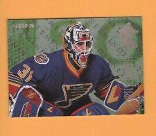 1994-95 Fleer NETMINDERS insert # 5 Curtis Joseph St Louis BLUES GOALIE