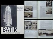 BATIR N°57 1937 ISEGHEM CINEMA BRUXELLES DOUR, SAINT IDESBALD, UCCLE, STYNEN