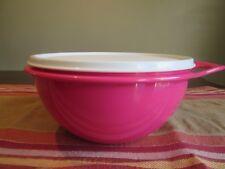 Tupperware MINI  NEW  Thatsa Bowl  1.4 L 6 cups  PINK PUNCH