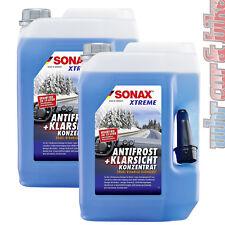 2x 5L Sonax XTREME AntiFrost&KlarSicht Konzentrat Frostschutz Scheibenreiniger
