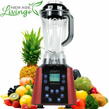 NEW 3.5HP DIGITAL TOUCH PRO COMMERCIAL FRUIT SMOOTHIE BLENDER JUICE MIXER (
