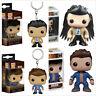 TV Show Supernatural Funko POP Toy Dean Winchester / Castiel PVC Figure/Keychain
