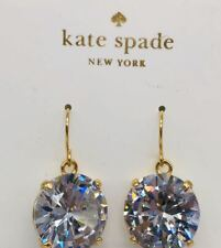 KATE SPADE shine on 'drop earrings Gold Plated