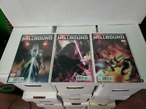 SECOND COMING REVELATIONS, HELLBOUND #1-3, (2010), Marvel comics, (CC2) X-Men