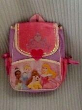 "Disney Princess 10"" X 8"" Backpack W/Ajustable Straps"