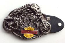 HD Ghost Chopper Rider Biker Belt Buckle-Unisex-Custom Bikes-Trikes