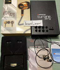 CUFFIE MONSTER BEATS HEADPHONES TURBINE PRO GOLD EDITION QUALITY Apple Iphone