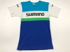 Vintage 70s 80s Shimano Single Stitch T-shirt Made In Japan bike Racing Logo