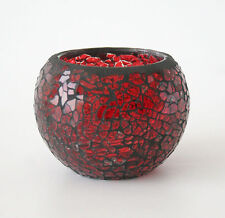 Handmade Glass Candle & Tea Light Jars/Containers
