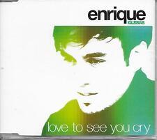ENRIQUE IGLESIAS - Love to see you cry PROMO CD SINGLE 1TR EU PRINT 2002