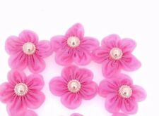 Flower Appliques Baby Pink Sewing Craft Fashion Accessories  Motif  DIY  by 6pc