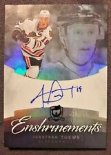 2012-13 The Cup Enshrinements #CEJT Jonathan Toews On Card Auto 48/50