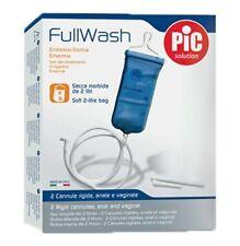 FullWash Enema For Intestinal Cleansing PIC Solution Anal Vaginal Irrigator Body
