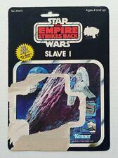 Vintage star wars Slave 1 Die Cast Card Back