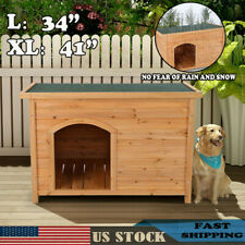Extra Large Outdoor Barn Dog House Wooden Big Xl Dogs Puppy Pet Shelter Kennel A