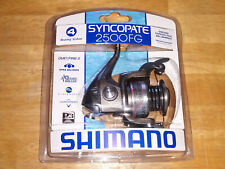 NEW - Shimano Syncopate 2500FG Spinning Reel 2500 FG Saltwater Freshwater SC2500