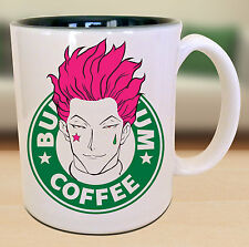 Hisoka Hunter X Hunter Starbucks Anime Manga Japanese Insipred Cartoon Geek Mug