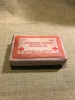 WWI US Army Medical J&J  1917 contract absorbent gauze bandage