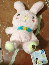 Pingu Plush Figure Series~Pingu Toy Pink Rabbit Super Soft Hug Me Lovely JAPAN