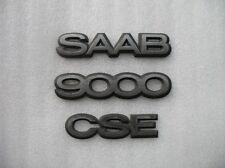 1995 SAAB 9000CSE 9000 CSE REAR TRUNK EMBLEM LOGO DECAL SET 93 94 95 96 97 98