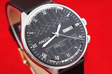 OLD stock wrist watch Perpetual calendar Rocket 2628.H Vintage Russian USSR