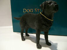 Black Labrador Retriever Ornament Figurine Figure Dog Gift