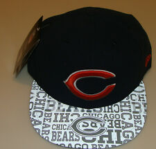 New Era Hat Cap NFL Football Chicago Bears 7 1/2 59fifty 2014 Draft Fitted