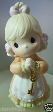 "PRECIOUS MOMENTS ""LOVE IS THE KEY "" 482242 BOXED AVON EXCLUSIVE 1998"