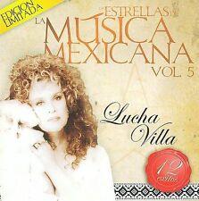 LUCHA VILLA - LAS ESTRELLAS DE LA MUSICA MEXICANA (NEW CD)