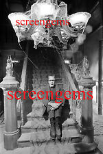 The Munsters RARE Fred Gwynne on set photo candid 8x12 Universal Studios mint