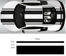car race racing track stripe decal kit sticker vinyl two 15cm 500cm!