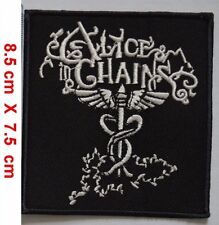 Alice In Chains PUNK ROCK HEAVY METAL MUSIC EMBROIDERED Iron on PATCH