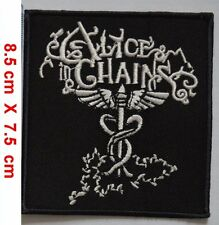 Alice In Chains PUNK ROCK HEAVY METAL Embroidery iron on / sew on patch {865}