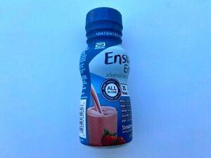 Ensure Enlive Nutritional Shake, Strawberry, 8 OZ Bottle Abbott 64281 Case of 24