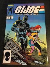 Gi-joe#63 Incredible Condition 8.5(1987) Snake-eyes, Zeck Cover!!