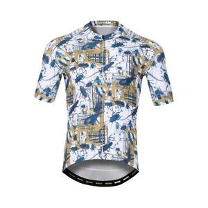Men's Cycling Jersey Clothing Bicycle Sportswear Short Sleeve Bike Shirt J123