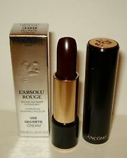 Lancome L' Absolu Rouge Lipstick ~ 399 Secrete (Creme) Full Size NIB