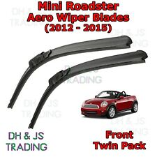 (12-16) Mini Roadster Aero Wiper Blades / Front Windscreen Flat Blade Wipers R59