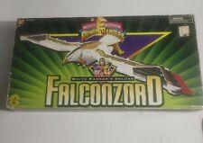 Mighty Morphin Power Rangers White Ranger's Deluxe Falconzord 1995 Bandai