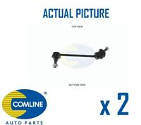 2 x NEW COMLINE FRONT DROP LINK ANTI ROLL BAR PAIR OE QUALITY CSL7021