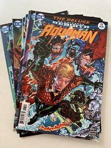 Aquaman #13-24 DC Rebirth 2016 Series set Abnett/Walker