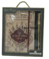 Harry Potter Notebook & Pen The Marauder's Map Christmas Gift Writing Sets