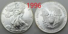 USA ESTADOS UNIDOS 1996 AMERICAN 1 DOLLAR MONEDA PLATA BRILLO ORIGINAL ONZA SC