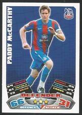 Match Attax 2011/2012 Championship CRYSTAL PALACE Paddy McCarthy