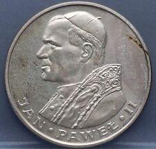 "1982 Polen - Poland 1000 zloty zlotych 1982 ""Visit of Pope John Paul II"" - nice!"