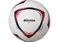 Mikasa JAPAN Football Ball Soccer Training F5TP Size:5 White Red Black
