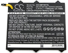 Battery for Samsung SM-T567, SM-T567V, Galaxy Tab E 9.6 XLTE, SM-T560NU  7300mAh