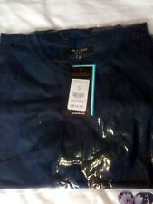 Men's BNWT Plain Navy Blue Tshirt, Size S, From New Look