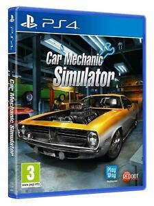 Car Mechanic Simulator - Sony Playstation 4 PS4 [Region Free Simulation Fix] NEW