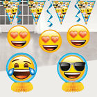 Emoji Paper Cups X8 Boys Girls Birthday Party Supplies Icon Smiley Face